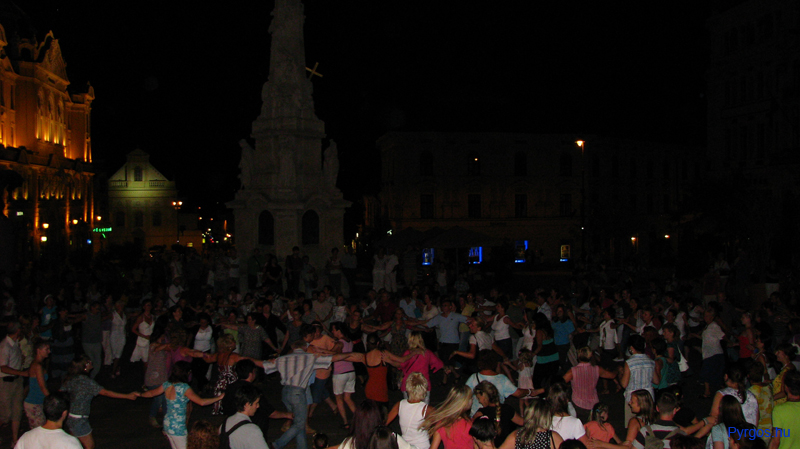 Görög szabadtéri táncház