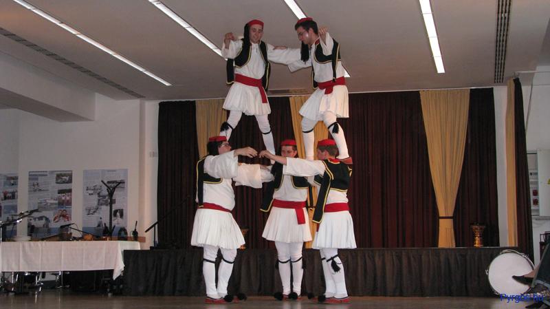 Görög Néptánc Együttes színpadi táncok.