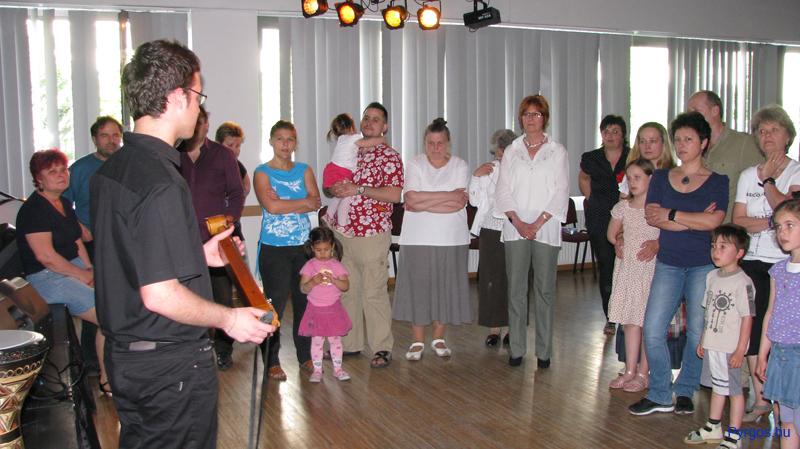 Görög hangszerbemutató Hrisztosszal.
